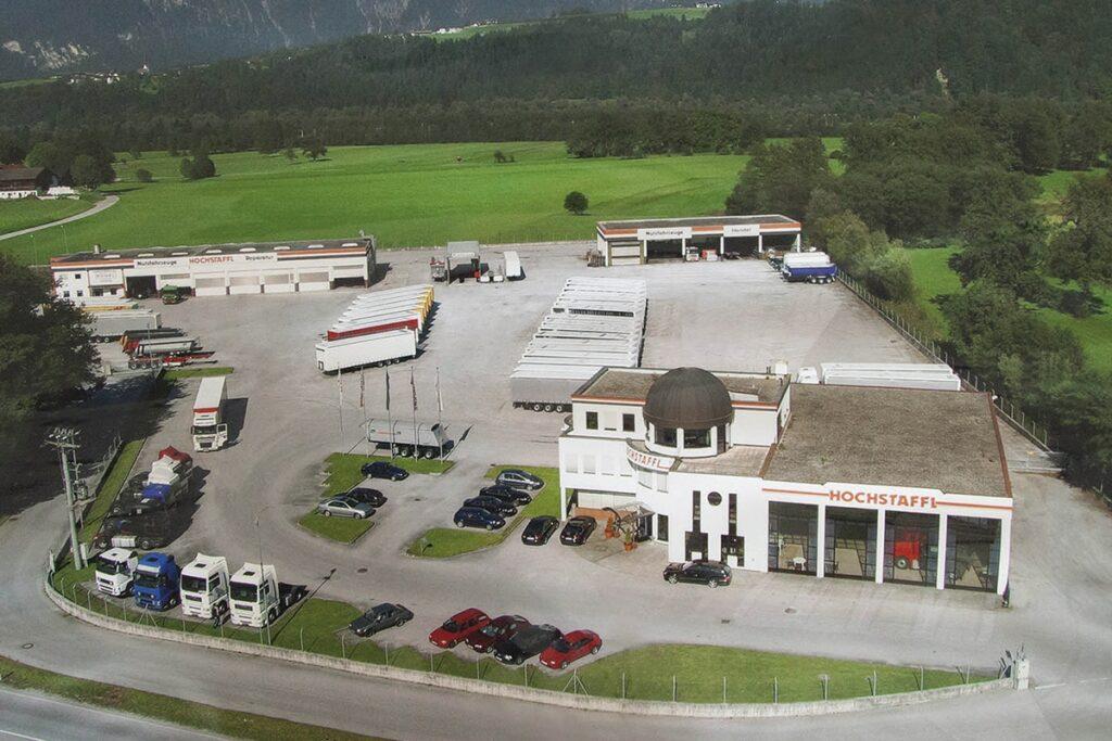 Hochstaffl Nutzfahrzeuge - Zentrale Kundl Österreich Standorte Kontakt