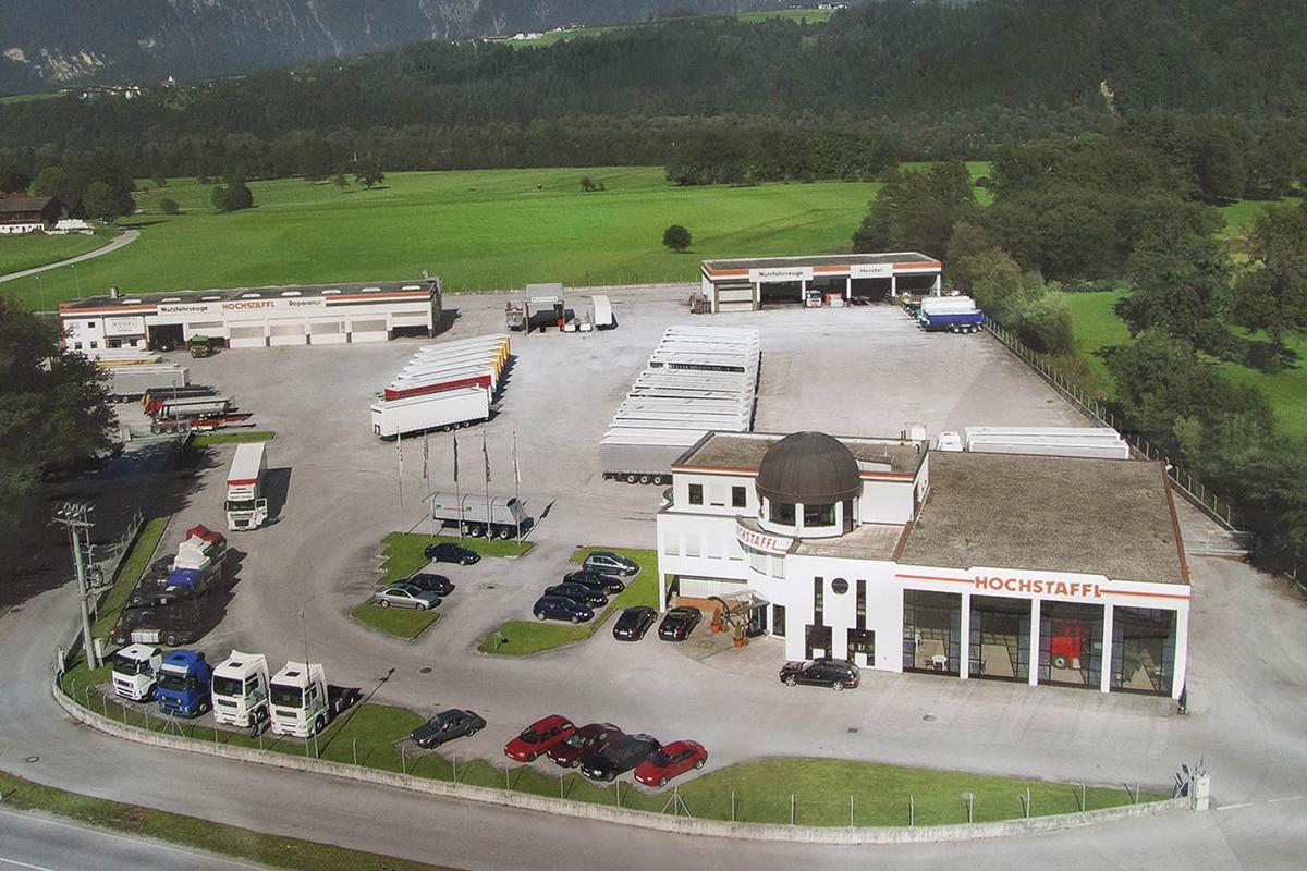 Hochstaffl Nutzfahrzeuge - Zentrale Kundl Firmengeschichte