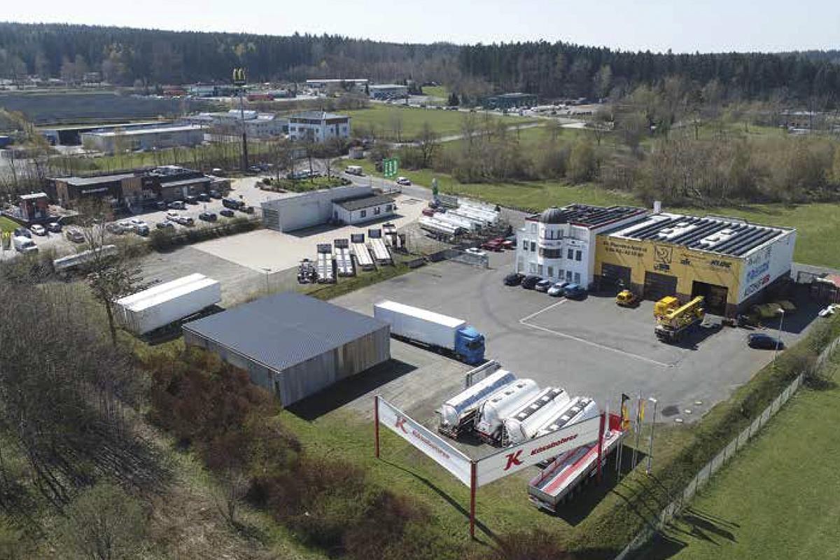 Hochstaffl Nutzfahrzeuge - Niederlassung Schleiz Deutschland Standort Kontakt