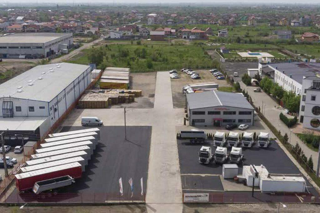 Hochstaffl Nutzfahrzeuge - Niederlassung Timisoara-Ghiroda Rumänien Standort Kontakt