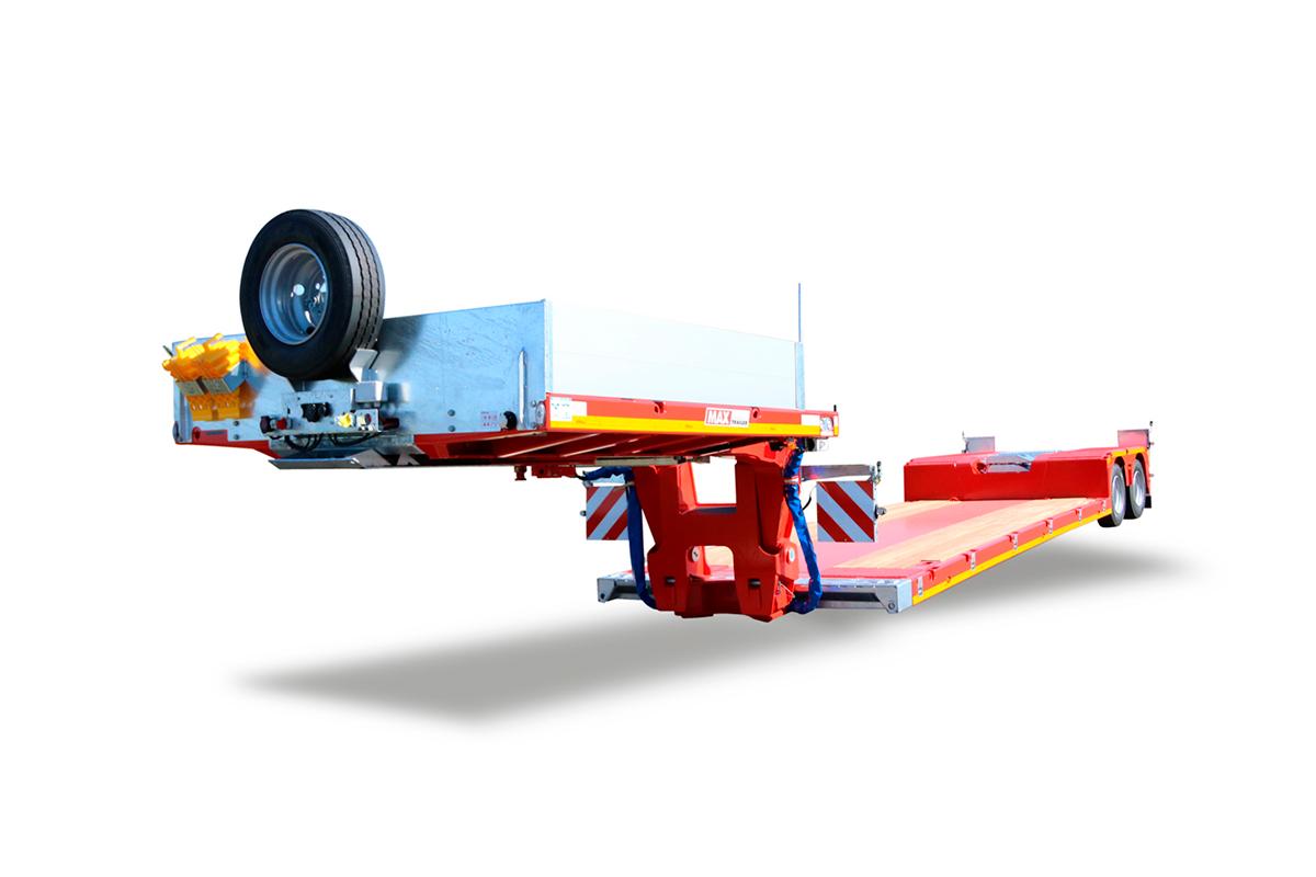 Hochstaffl Nutzfahrzeuge - Max 510 Trailer Tieflader
