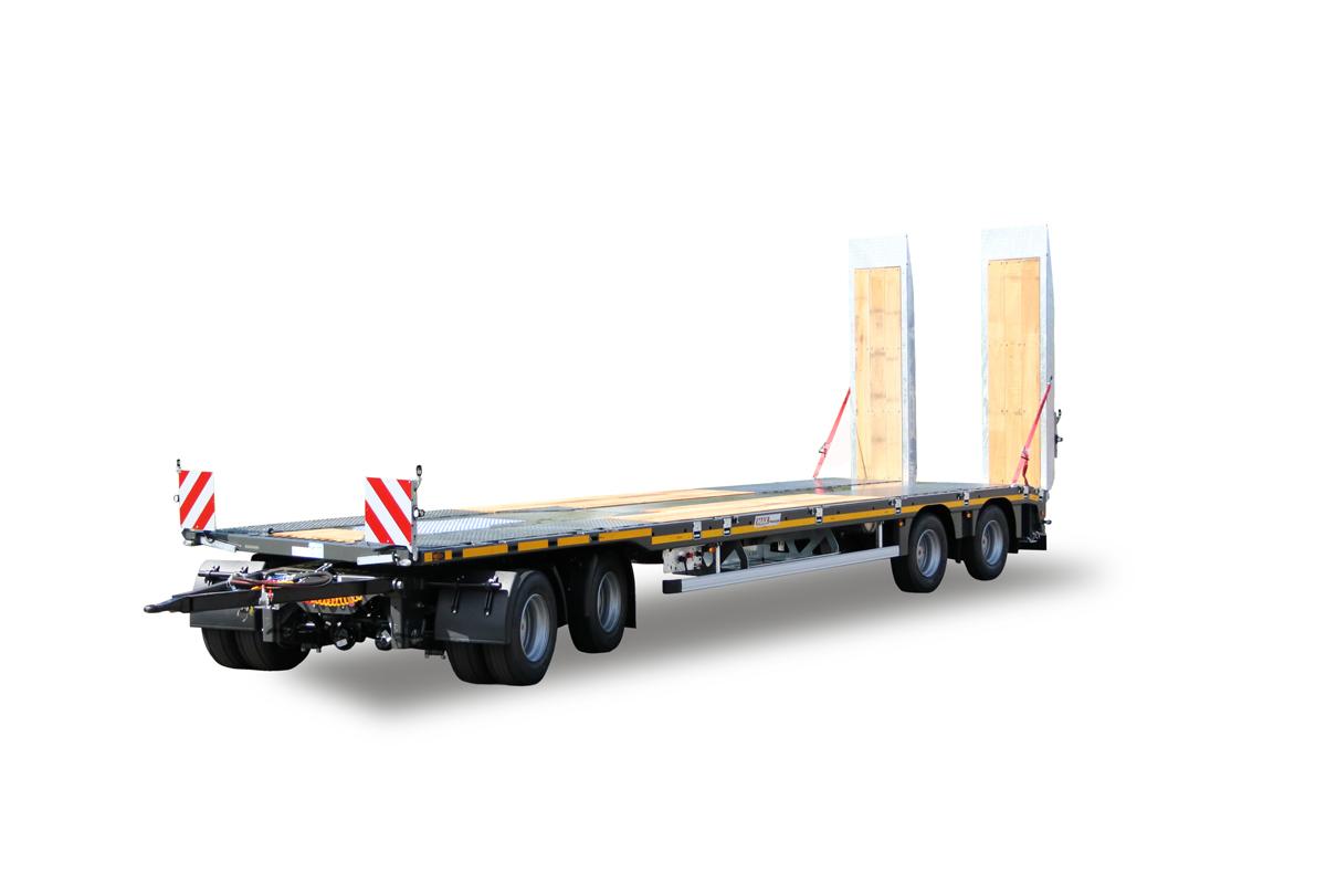 Hochstaffl Nutzfahrzeuge - Max 600 Trailer Tieflader