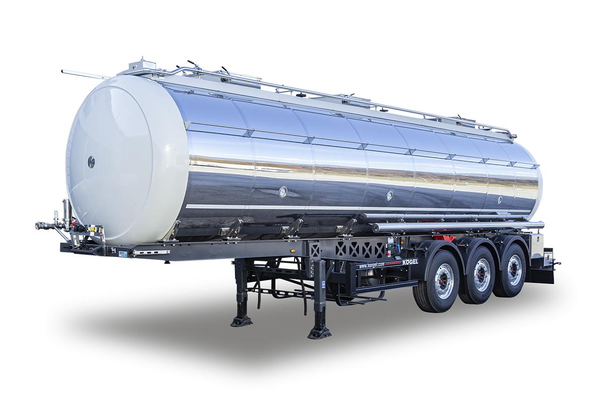 Hochstaffl Nutzfahrzeuge - Kögel Tankauflieger Lebensmitteltank-Auflieger