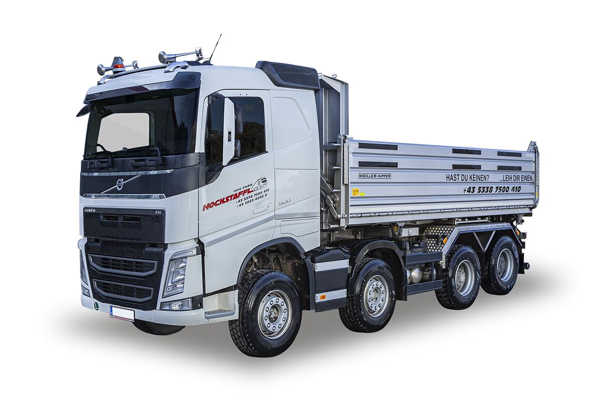 Hochstaffl Nutzfahrzeuge - Volvo FH 500 8x4 Gesteinskipper Zugfahrzeuge LKW mit Aufbau