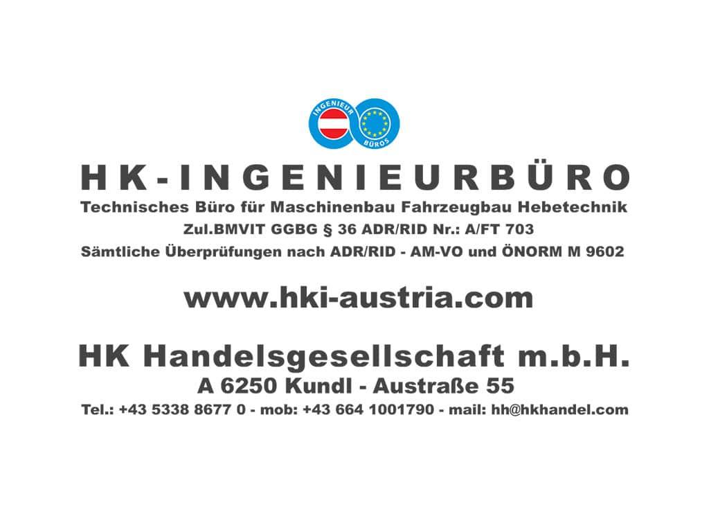 Hochstaffl Nutzfahrzeuge - Partner HKI Logo