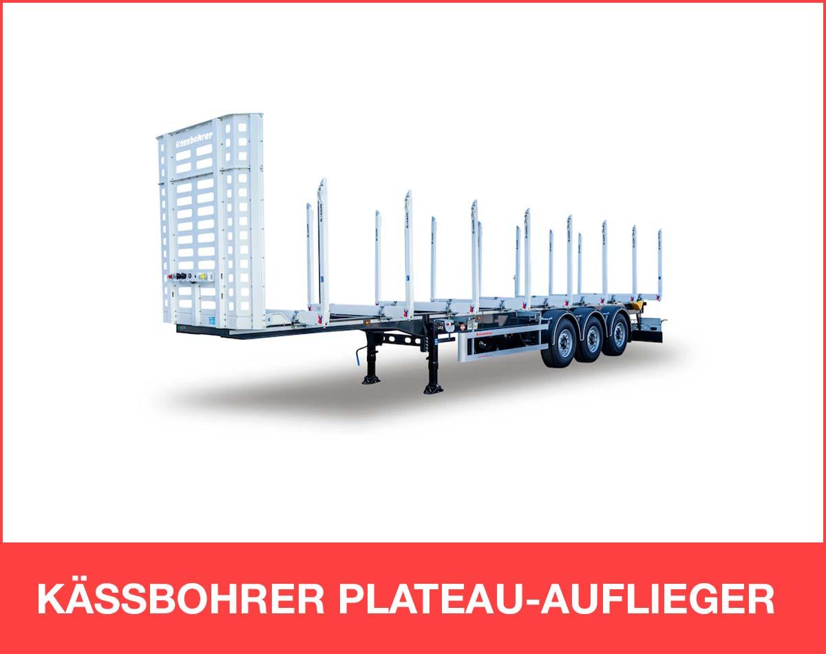 KÄSSBOHRER PLATEAU-AUFLIEGER