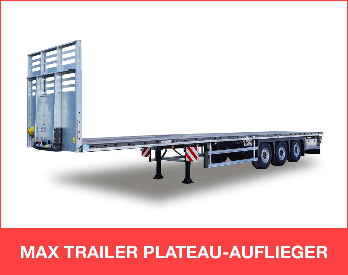 MAX TRAILER PLATEAU-AUFLIEGER