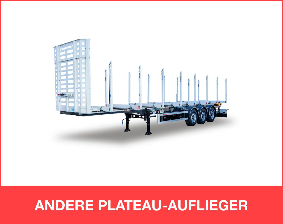 ANDERE PLATEAU-AUFLIEGER